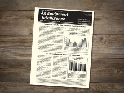 Ag Equipment Intelligence