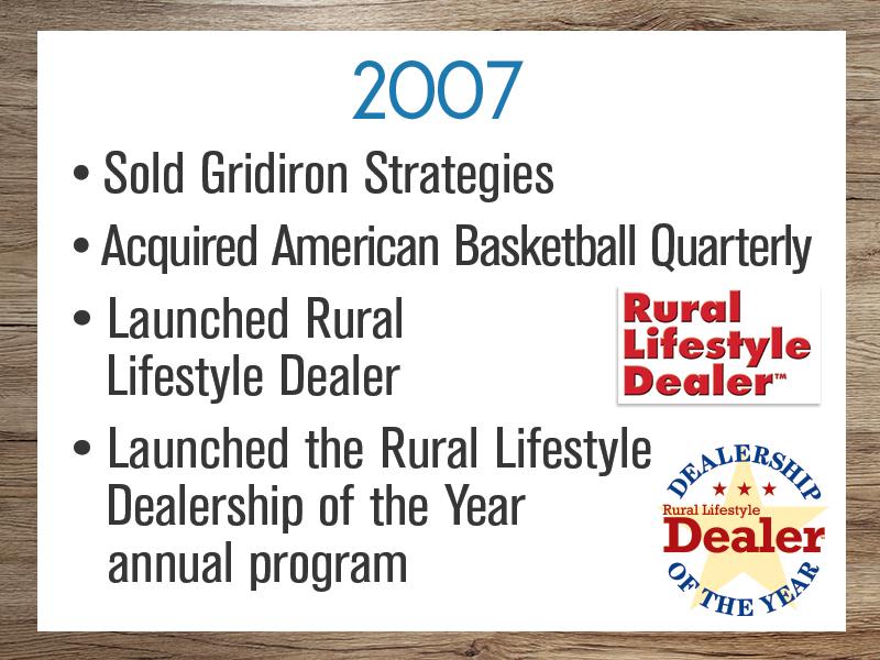 Timeline: 2007